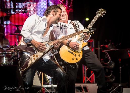 Michel Bruno et Bob Champoux