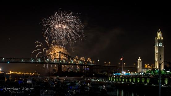 Pont Jacques-Cartier en fête