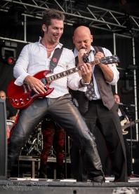 Michel Bruno et Martin Levac