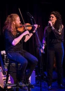 Marc Angers et Cynthia Harvey